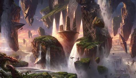 The Lands of Magic: The Gathering's New Set - Zendikar ...