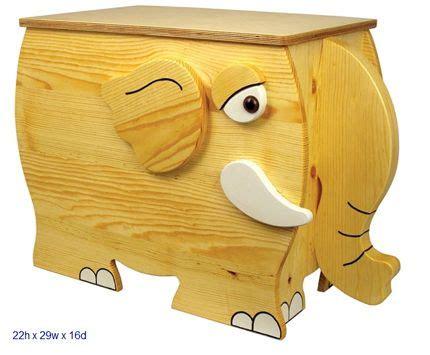 pin  elephant toy box