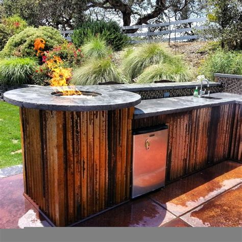 Outdoor Kitchens And Firepits  Rustic  Other Metro  By. Kitchen Tile Floor Ideas. Step 2 Play Kitchens. Kosher Kitchens. R Kelly Kitchen. Corner Kitchen Sink Base Cabinet. Whiskey Bar Kitchen. Standard Kitchen Table Height. Painting Kitchen Cabinets