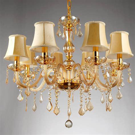 chandeliers pendant lights 6 8 arms fashion crystal chandelier lighting bedroom