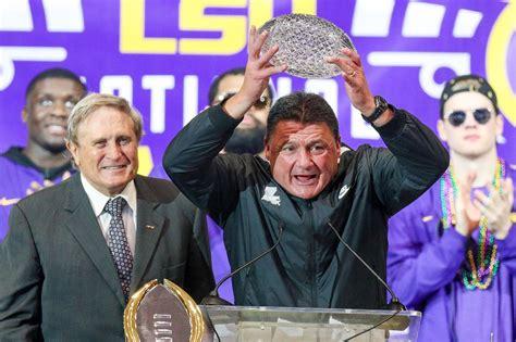 LSU opens season vs. Mississippi State, Leach - National ...