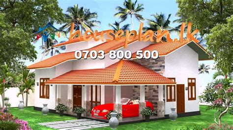 modern house plans  sri lanka front design