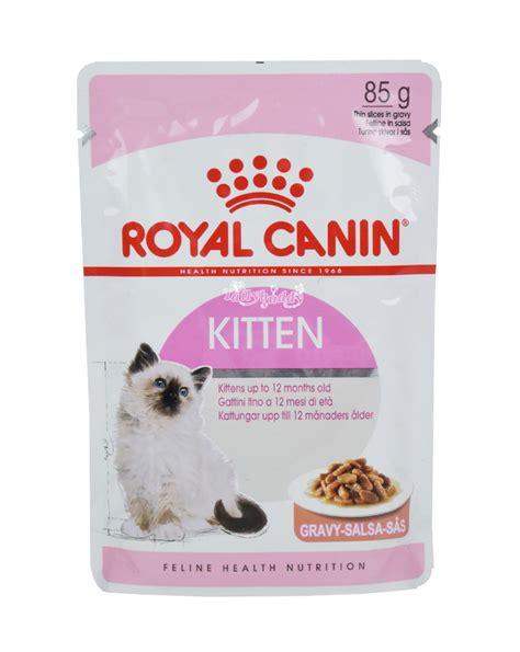 Royal Canin Kitten by Royal Canin Kitten Instinctive Gravy อาหารแมวแบบเป ยก