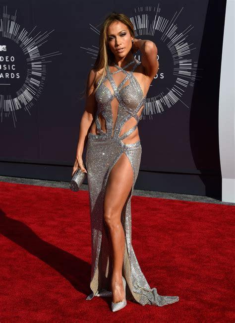 lopez jennifer awards mtv jlo vmas part arrivals vma recortes vestidos looks body lo famosas cintura vestido getty buzzfeed afinam