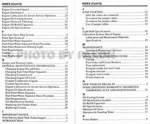 1993 7 3l Diesel Engine Owner Guide Supplement