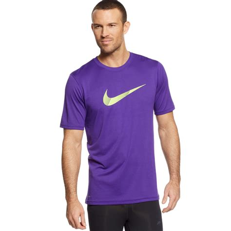sale d g dolce gabbana shirt nike chainmaille legend swoosh tshirt in purple for lyst