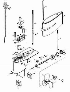 Chrysler 4 Hp  1979  Gear Housing Parts