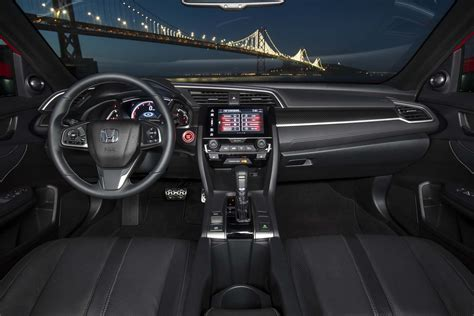 honda civic 2017 interior 2017 honda civic hatchback ex l w navi first drive review