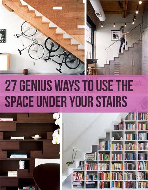 genius ways    space   stairs