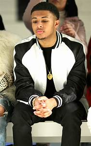 Diggy Simmons in Kye - Front Row - Fall 2016 New York ...