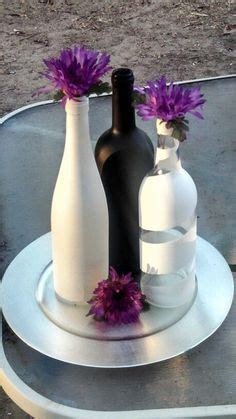 centerpieces wine bottles wedding google search