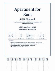apartment for rent flyer template images With apartment flyers free templates