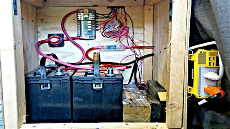 Van Life Campervan Electrical System Explained