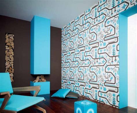 canapé tissu bleu 85 idées de papiers peints salon de l 39 élégance et du style