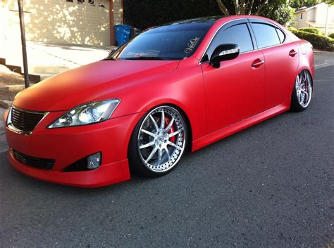 red lexus is 250 2006 ca 2006 lexus is250 manual show car clublexus lexus