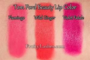 Tom Ford Beauty Lip Color 17 Violet Fatale Swatch and ...