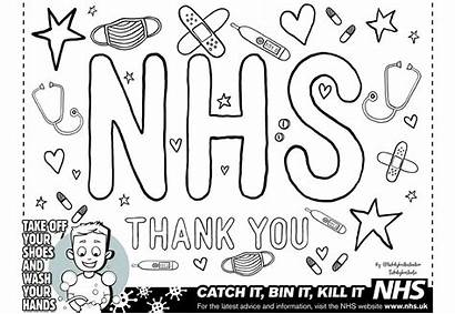 Nhs Rainbow Colouring Support Competition Newark Advertiser