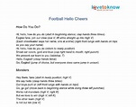 Printable Hello Cheers | LoveToKnow