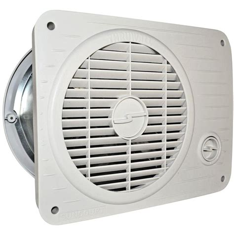 thru wall circulating fans suncourt radon mitigation fan kit 4 in fan with 4 in to