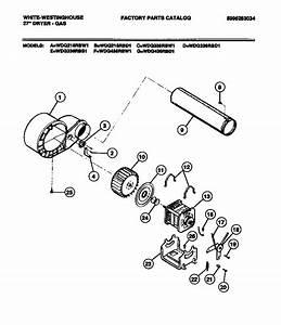 Motor Diagram  U0026 Parts List For Model Wdg336rbw1 White