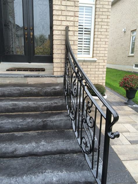 wrought iron handrail gallery exterior wrought iron railings innovative 1193