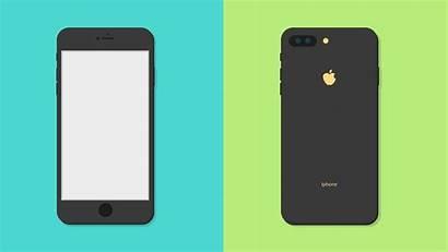 Phone Illustrator Flat Illustration Mockup Adobe Create