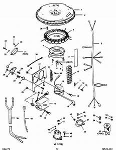 Force 50 Hp  1989  Electrical Components Parts