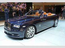 IAA 2015 RollsRoyce Dawn als dynamisches LuxusCabrio
