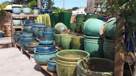 Outdoor Pottery Planters by Pottery Outdoor Accents Of Florida