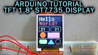 arduino 1 8 quot tft display arduino st7735 youtube downloader free m4ufree com