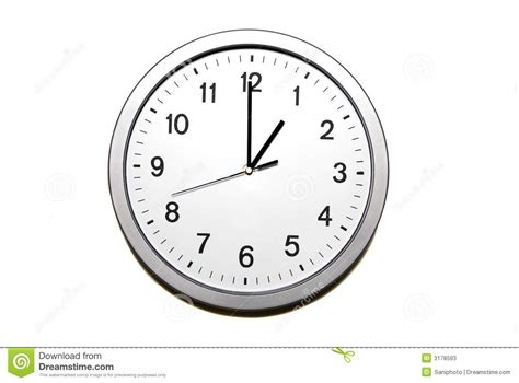 Pencil And In Color Clock Clipart