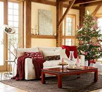 Christmas Things I Love Pottery Barn Vintage Farm Furniture Living Room Small Living Room Ideas Living Room Tables Living Room Under The Christmas Tree This Is The Best And Most Pleasant Decoration Christmas Table Candles Candelabras