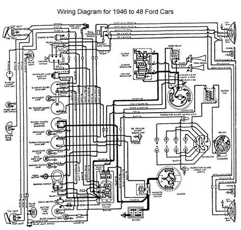 1947 Dodge Wiring Diagram by 48 Ford Headlight Switch Help The H A M B