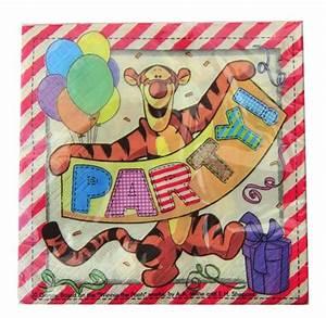Winnie Pooh Servietten : servietten winnie the pooh tigger partyservietten lu partyservietten kinder motiv winnie pooh ~ Sanjose-hotels-ca.com Haus und Dekorationen