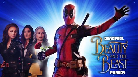 deadpool  musical beauty   beast gaston