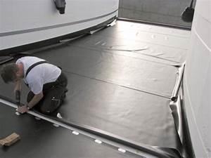 Balkon Abdichten Bitumen : flachdach reparatur flachdach sanierung mit bitumen und pvc dachbahnen ~ Markanthonyermac.com Haus und Dekorationen