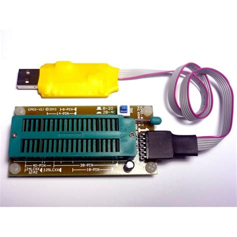 icp usb microchip pic programmer vv  icsp