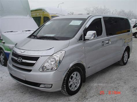 Hyundai Starex Picture by 2008 Hyundai Starex Pictures Information And Specs