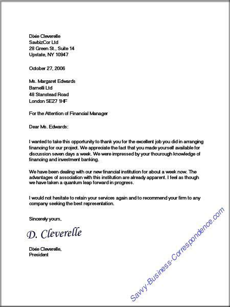 letter types formats school business letter sample