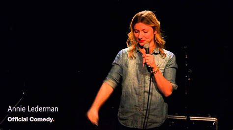 Sober Sex Annie Lederman Official Comedy Stand Up