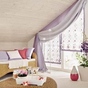 Vorhang Für Schräge Wände : 16 praktische wohnideen f r ihre dachschr ge ~ Sanjose-hotels-ca.com Haus und Dekorationen