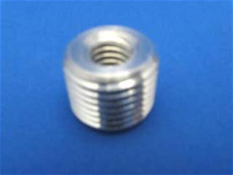 set of 4 gear shift knob thread adapter nut reducer insert od 16mm id 3 8 16 ebay