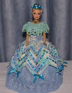 quotprincesse des oceansquot robe de barbie bleue blanche au With robe crochet blanche