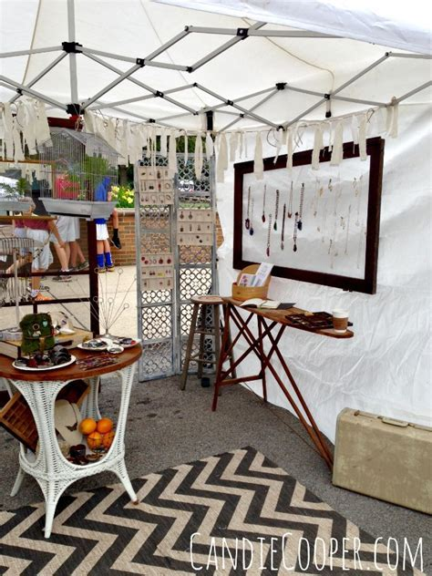 How to Set Up an Art Fair Tent   Candie Cooper