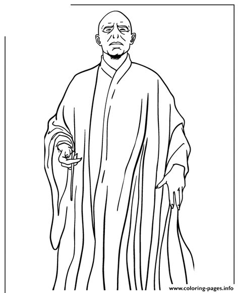 harry potter  blood prince voldemort coloring pages