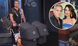 George Clooney's twins make TV debut with their 'manny ...