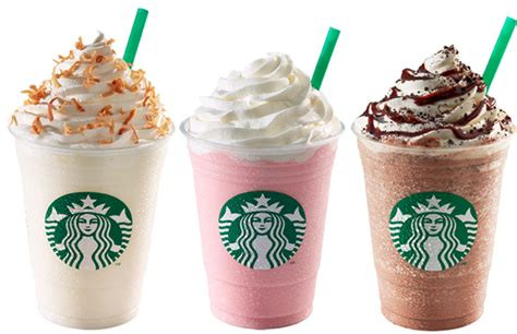 Making starbucks drinks at home | pink drink, caramel frappuccino, mocha cookie crumble. Starbucks Creates Unhealthy Trend for Children - Guardian Liberty Voice