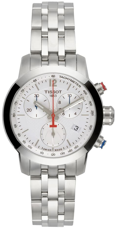 Tissot Prc 200 Chrono Leather Brw tissot prc 200 chrono nba special edition t055 217
