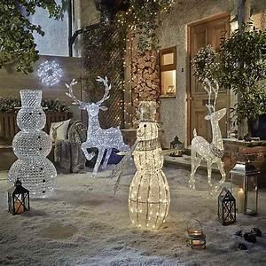 Noel Decoration Exterieur : decoration lumineuse de noel exterieur farqna ~ Premium-room.com Idées de Décoration