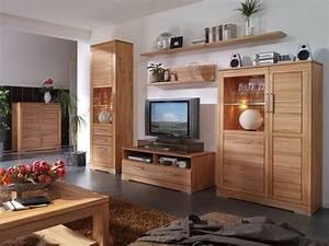 Wohnzimmermbel Holz Massiv